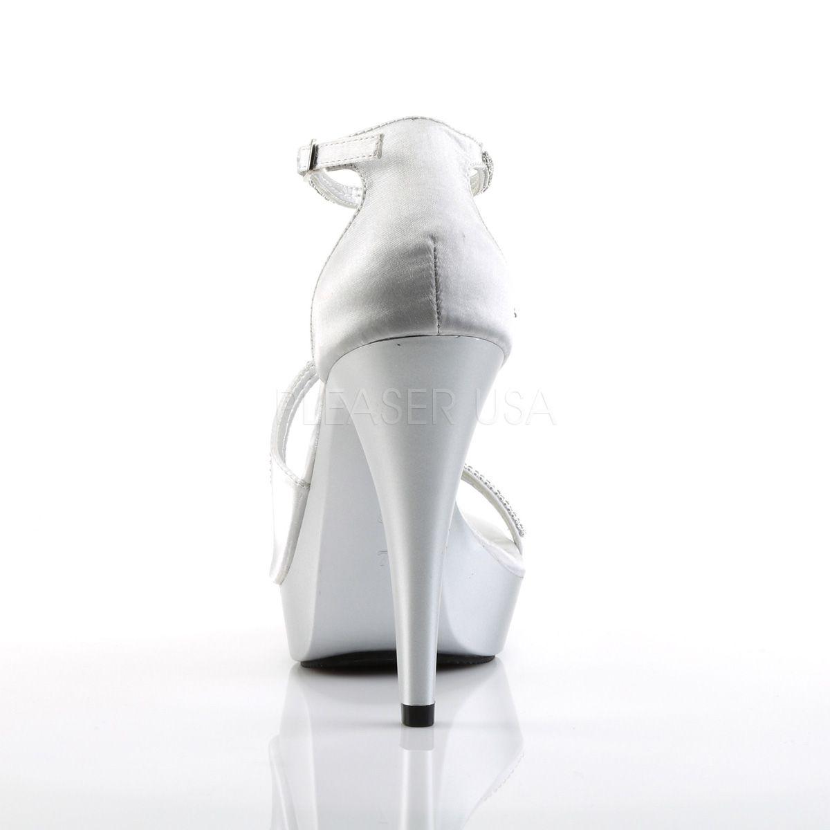 Sandalias sexy de diseño original de Pleaser con strass