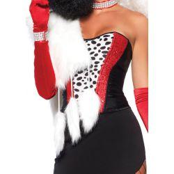 Leg Avenue disfraz sexy de gatita seductora compuesto por 3 piezas