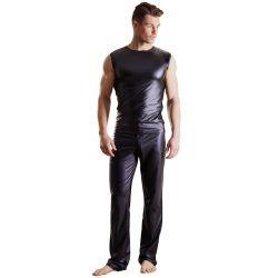 Pantalones clásicos para hombre de tejido brillante ¡Imprescindibles!