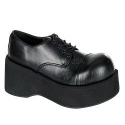 Zapatos de plataforma acordonado