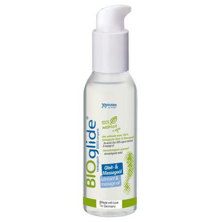 """¡2 en 1!.. Masajeador y lubricante 100% orgánico con """"BIOglide lubricant"""""""
