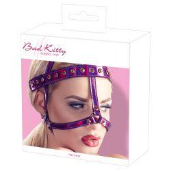 """Arnés para la cabeza con correas ajustables de la marca """"Bad Kitty"""""""