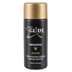 "Lubricante a base de silicona 30 ml ""Just Glide"" con propiedades mejoradas"