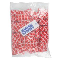 Pack ahorro de 1000 preservativos rojos ¨Durex london¨ sabor a fresa