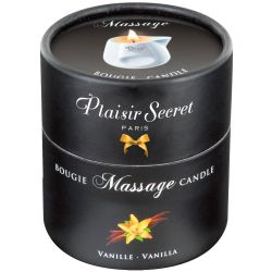 "Vela de masaje 80 ml con un aroma a vainilla, de la marca ""Massage Candle"""