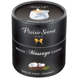 "Vela de masaje 80 ml con un aroma a coco, de la marca ""Massage Candle"""
