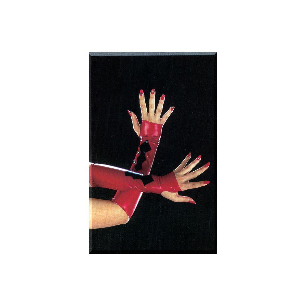Guantes de Látex sin Dedos con Diseño