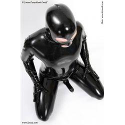 Catsuit de Látex para Hombre con Mascara