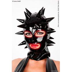 Mascara de Látex con Puas en Contraste