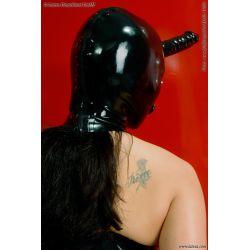 Mascara de Látex con Vibrador