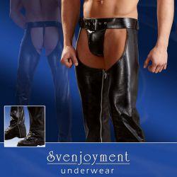 Pantalones abiertos con slips para hombre