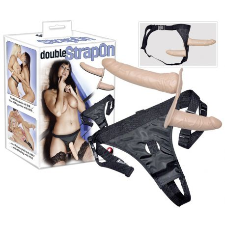 Arnés ¨double strap-on¨