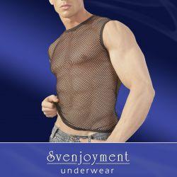 Camiseta de malla serie ¨black net¨