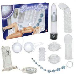 Kit crystal clear nueve piezas
