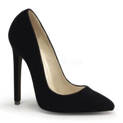 Zapato en nobuck retro con barquilla clásica