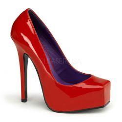 Novedoso zapato plataforma y punta cuadrada