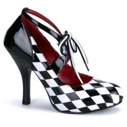 Zapato disfraz arlequín