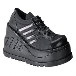 Zapato gotico sport de plataforma acordonado