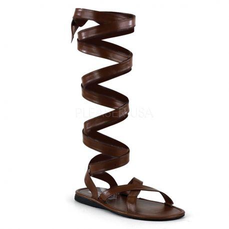 Sandalia romana tiras atadas