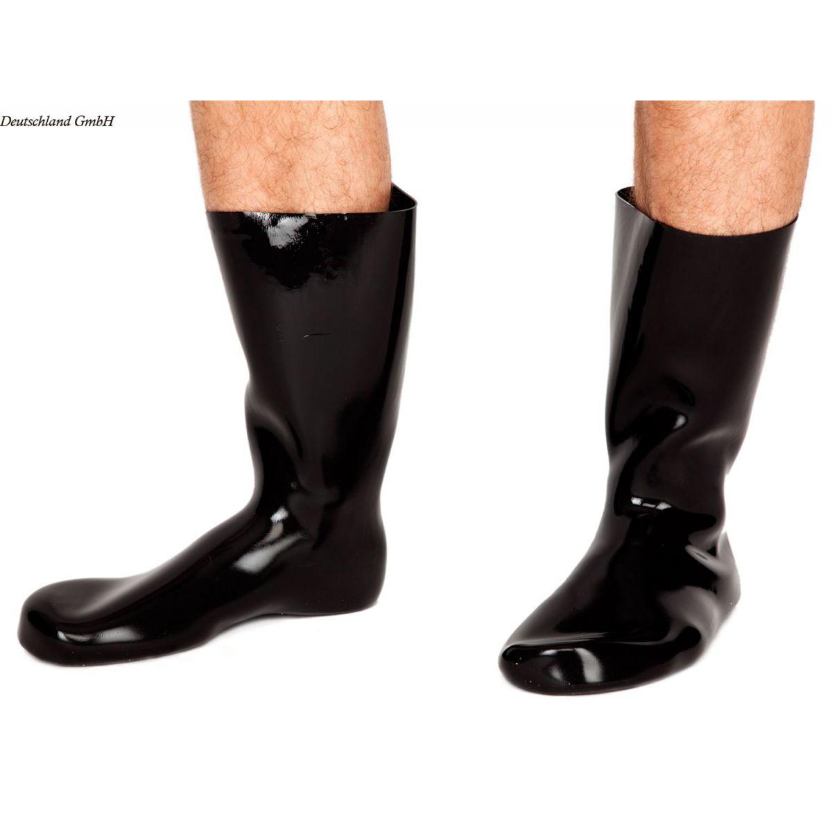 Calcetines de látex estilo botas