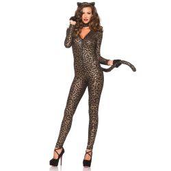 Leg Avenue disfraz sexy de gatita presumida compuesto por 3 piezas