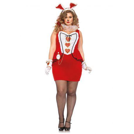 Leg Avenue disfraz sexy conejita curvilinea 5 piezas hasta talla XXXL