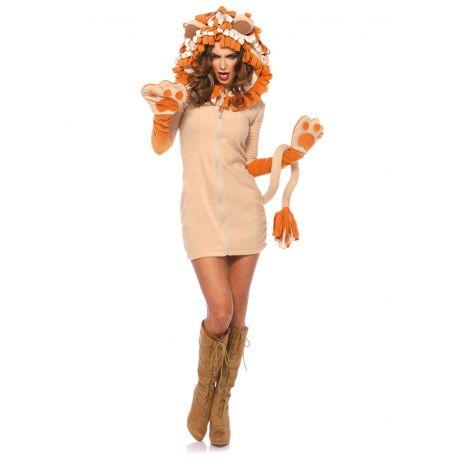 Leg Avenue disfraz sexy de simpático león compuesto por 1 pieza