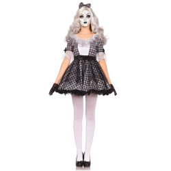 Disfraz original de muñeca de porcelana en 3 piezas marca Leg Avenue