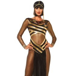 Leg Avenue disfraz sexy de Diosa egipcia Isis compuesto por 3 piezas