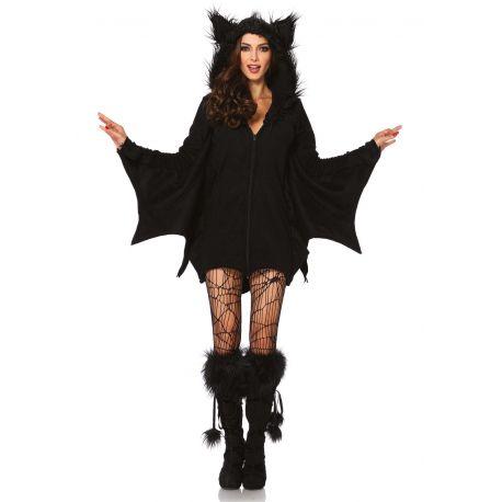Leg Avenue disfraz sexy de mujer murciélago traviesa