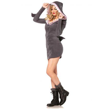 Leg Avenue disfraz sexy de mujer tiburóna traviesa