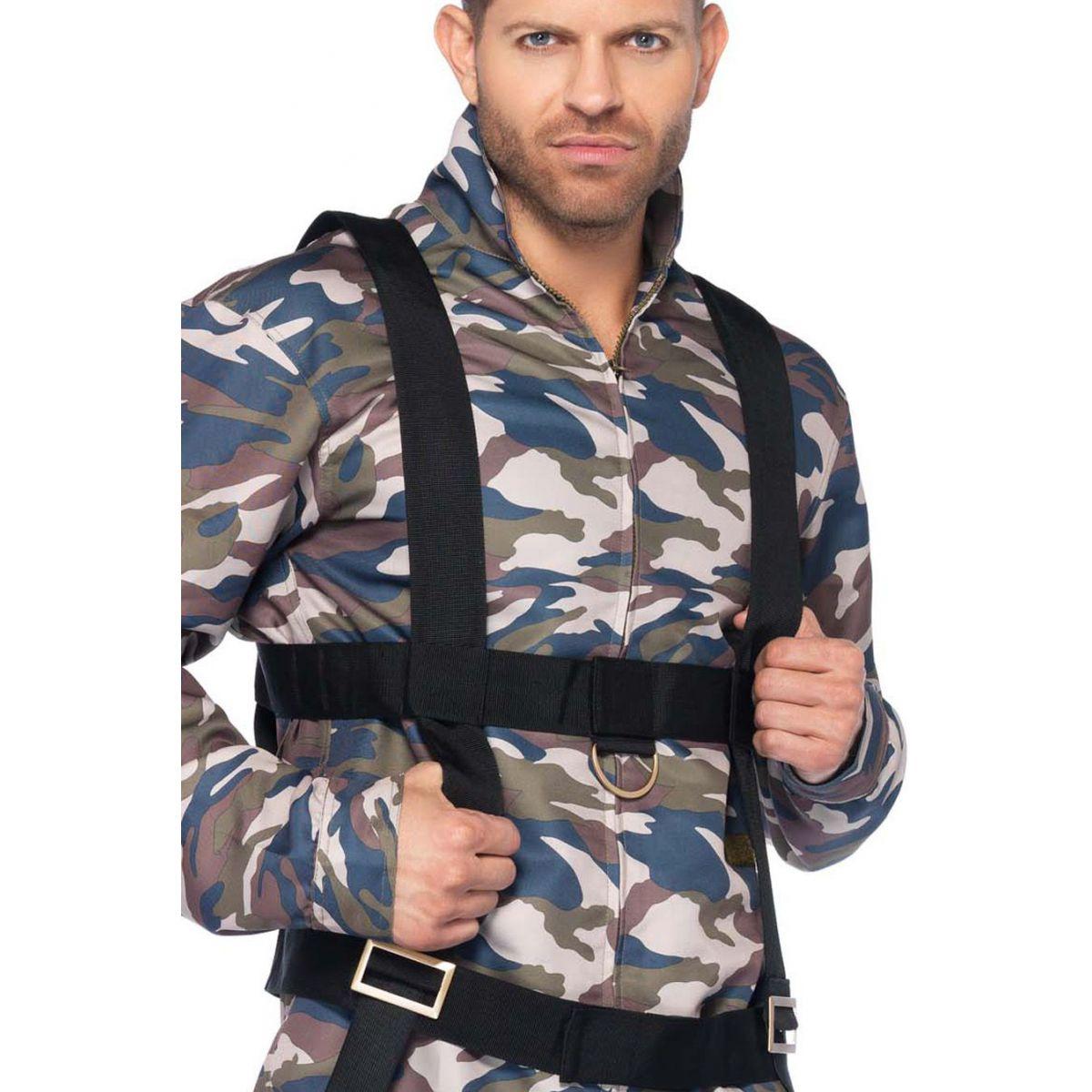 Leg Avenue disfraz marculino de soldado paramilitar de 2 piezas