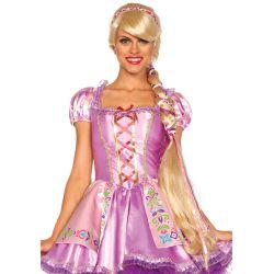 Leg Avenue peluca de fantasía pelo largo del cuento de Rapunzel