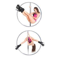 Barra metálica para practicar Pole Dance en casa con altura ajustable