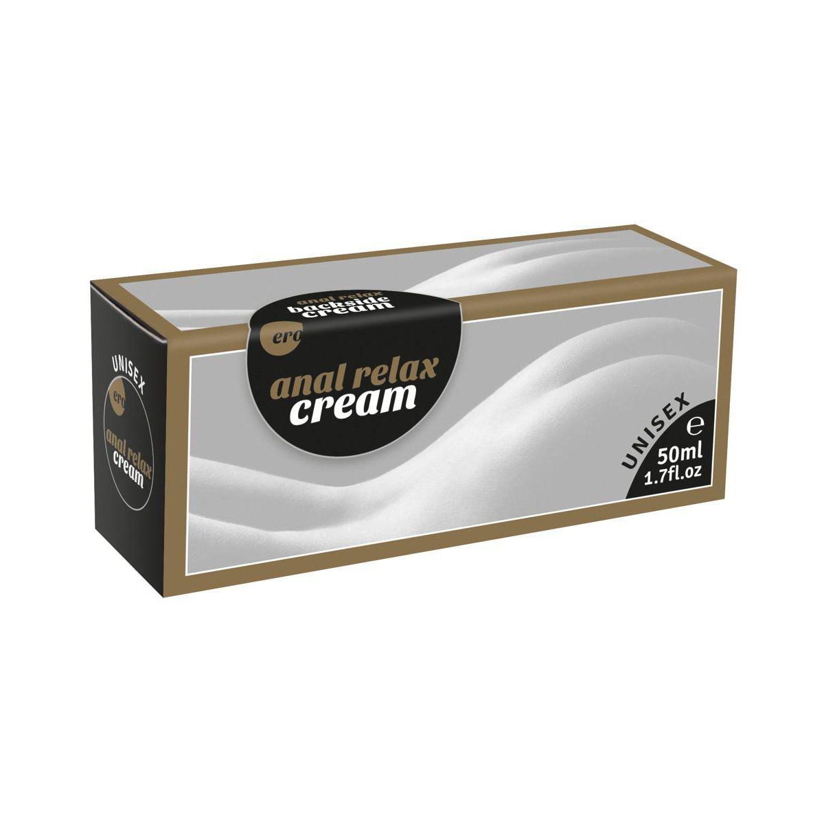 Crema anal relajante y lubricante 50 ml