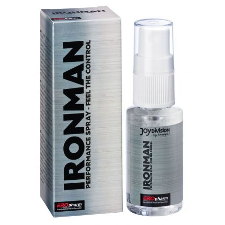 Ironman spray masculino para prologar e intensificar el sexo 30ml