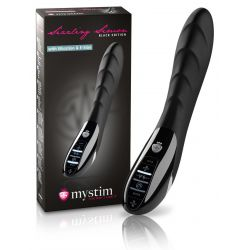 """Vibrador recargable """"Mystim"""" doble vibración y estimulación eléctrica"""