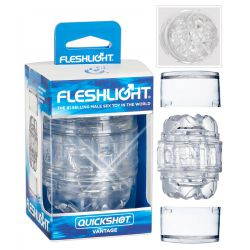 "FleshLight Masturbador masculino ""Quickshot Vantage"" de doble cara"