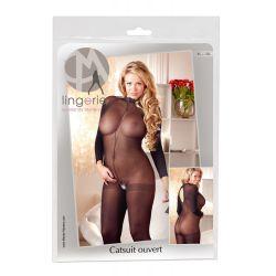 Body catsuit liso en talla grande que cubre todo el cuerpo