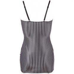 ¡Tu secretaria sexy ha llegado! .. Mini vestido ajustada con ligueros
