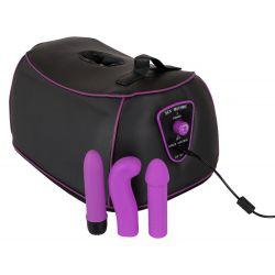 Máquina del amor SexMachine con 3 consoladores y vibración regulable