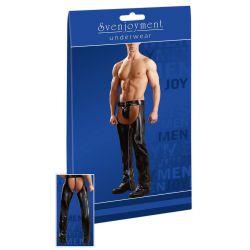 Pantalones abiertos con tanga para hombre