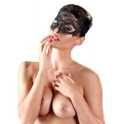 Máscara para los ojos con delicados encajes florales geométricos