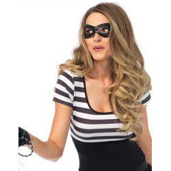 Disfraz Leg Avenue para carnaval atracadora de bancos de 5 piezas.