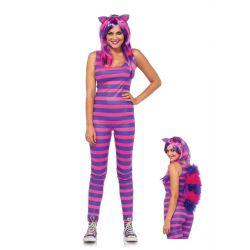 Disfraz Leg Avenue Carnaval de Dulce Gatita Cheshire de 2 piezas