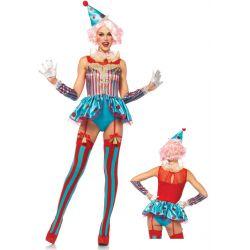 Disfraz clásico de Campesina Bábara para Carnaval de Leg Avenue