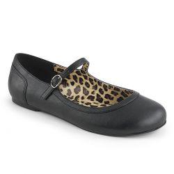 Merceditas zapatos bajos de polipiel con correa tallas grandes 40 a 48