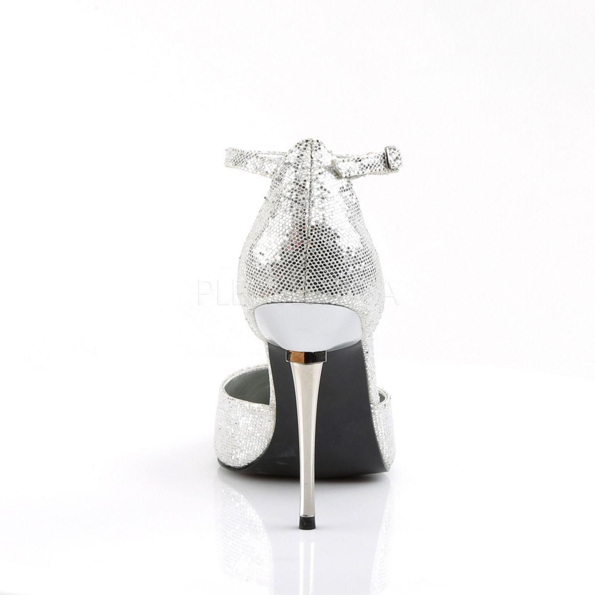 Sandalias Fetish Stiletto D'orsay con tacón metálico tallas 35 a 48
