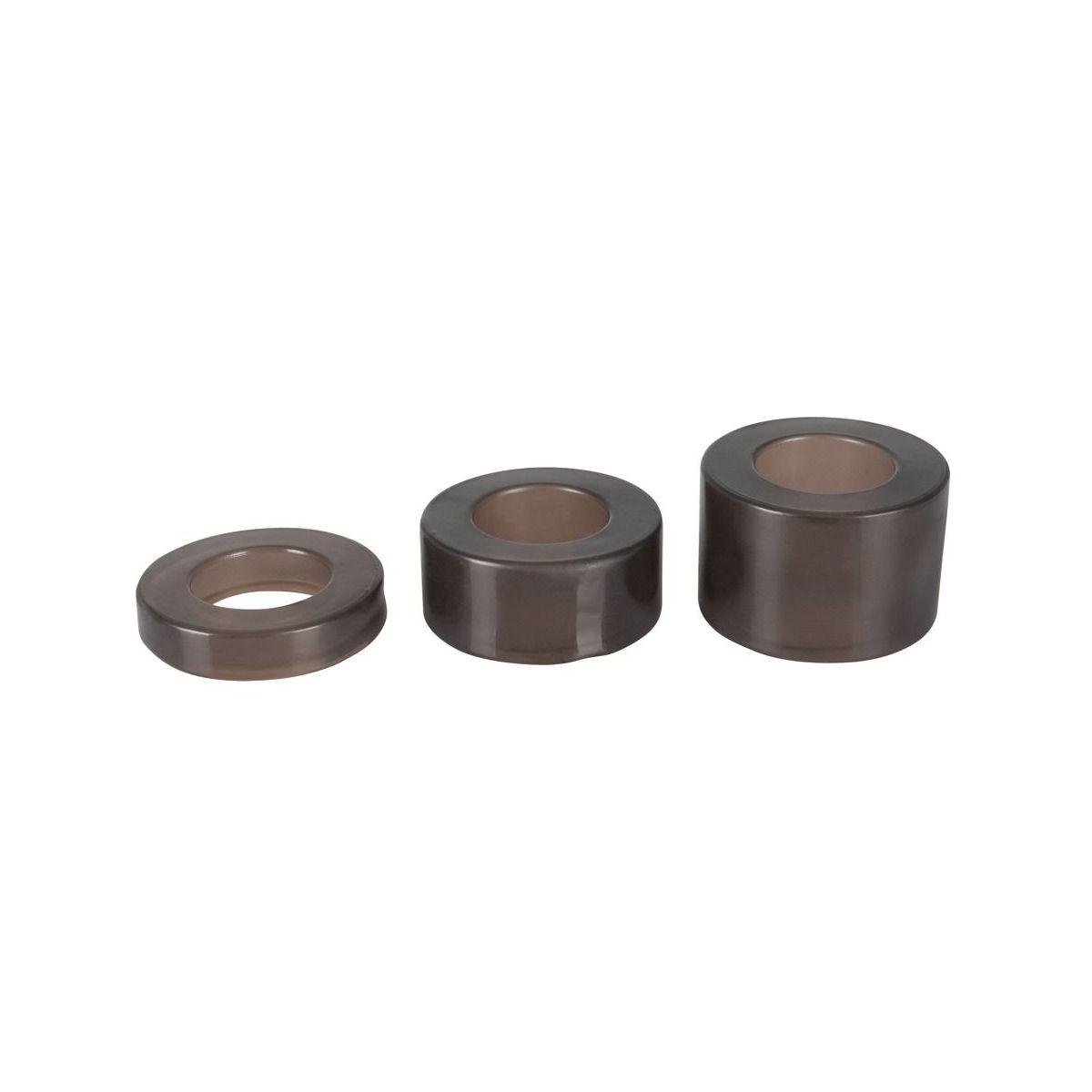 Conjunto de 3 anillas diferentes tamaños para estiramiento del escroto