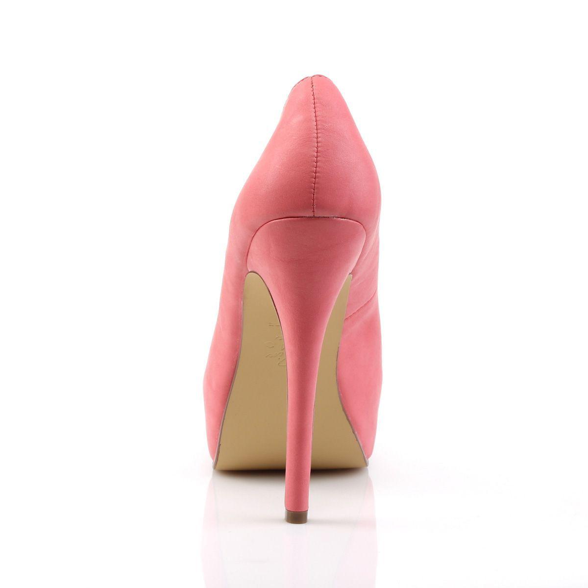Elegantes zapatos Pin Up con plataforma y puntera abierta con calados